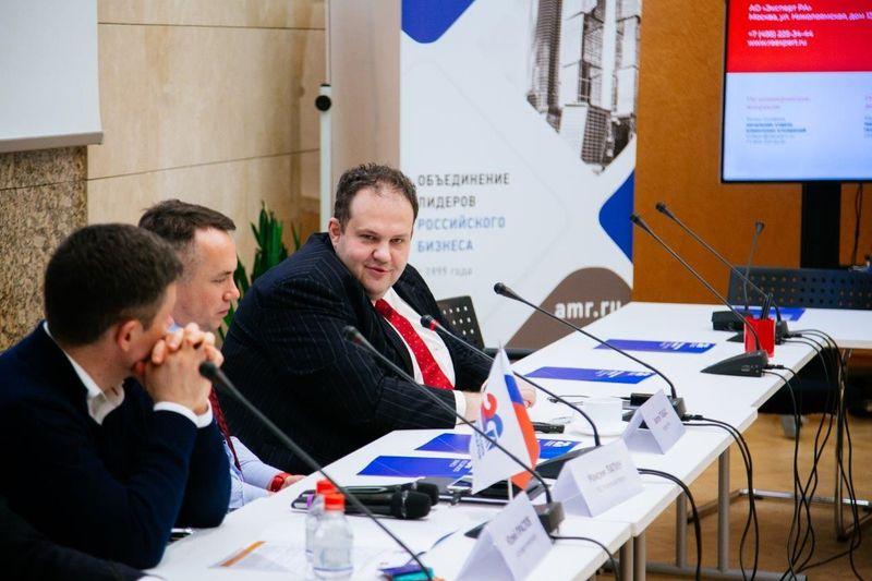 Антон Табах на заседании Комитета по корпоративным финансам и рынкам капитала Ассоциации менеджеров, 16 декабря 2019 года»